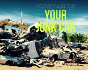 Junkyard Car Scraps